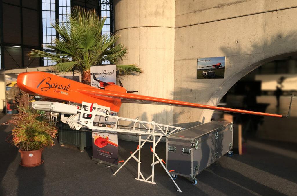 """Démonstration opérationnelle lors de l'évènement """"Aerial Firefighting"""" à Nîmes"""