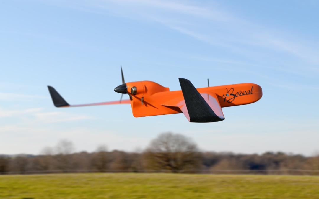 Le drone BOREAL, le drone utilisé dans le projet européen Skyopener