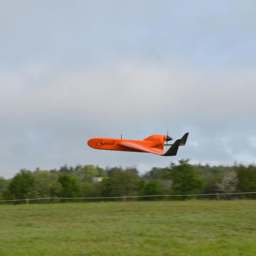 Le drone BOREAL a effectué un vol pour le projet Terriscope