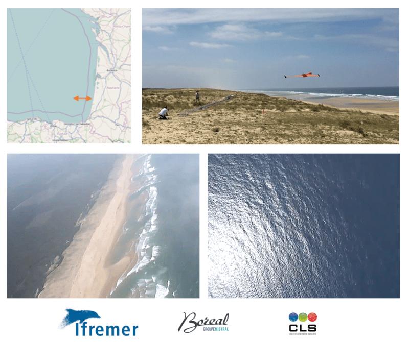 Campagne de vol avec le drone BOREAL pour le Projet ETOILE