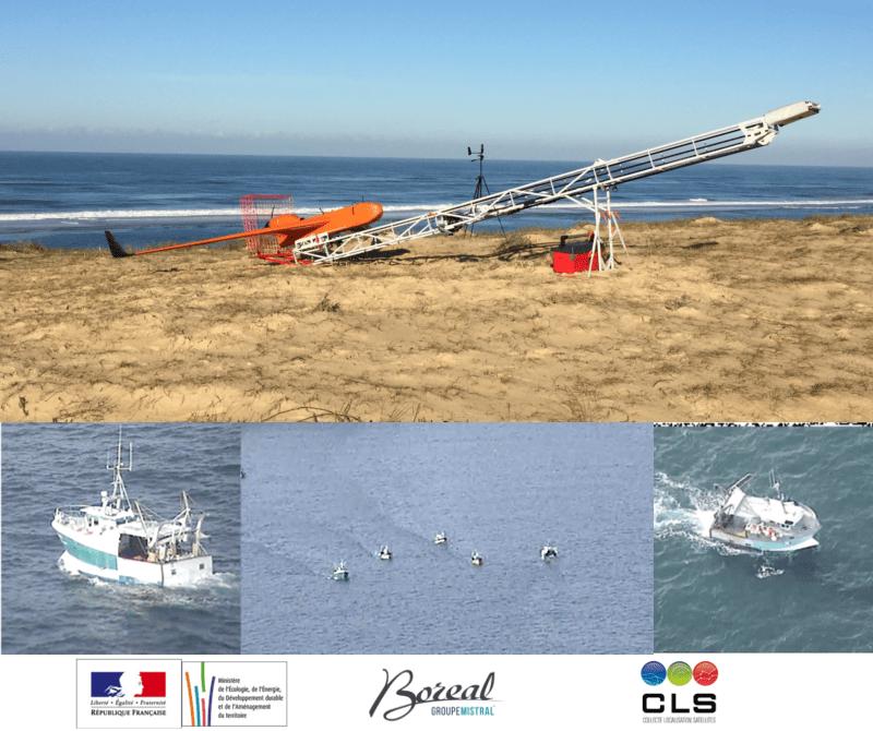 Campagne de vol pour la surveillance de la pêche dans les eaux territoriales françaises