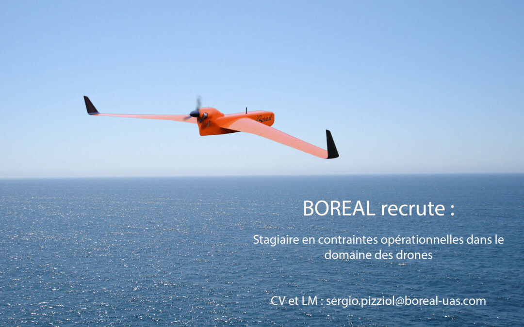 Recherche stagiaire en contraintes opérationnelles dans le domaine des drones