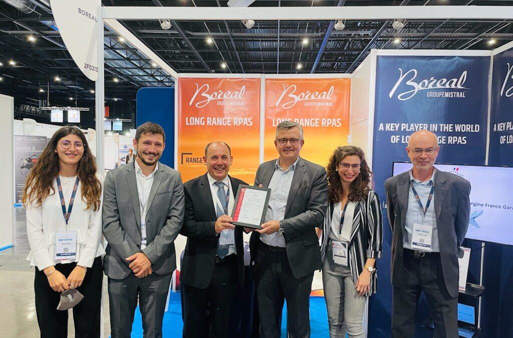 Les aéronefs télé-pilotés BOREAL certifiés Origine France Garantie